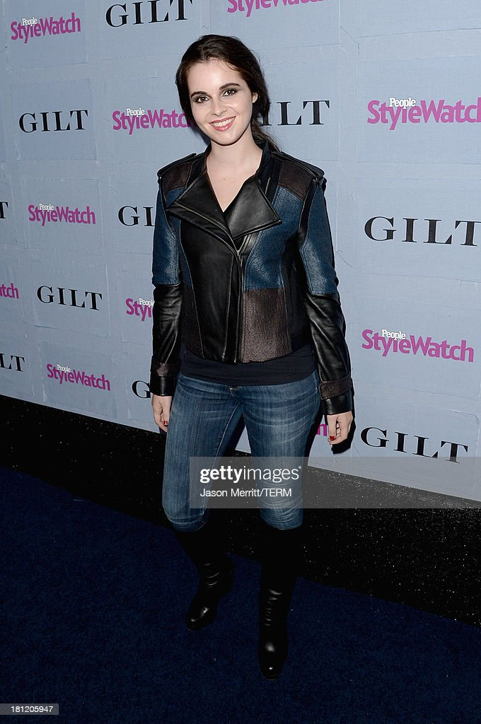 Actress <a gi-track='captionPersonalityLinkClicked' href=/galleries/search?phrase=Vanessa+Marano&family=editorial&specificpeople=851394 ng-click='$event.stopPropagation()'>Vanessa Marano</a> attends People StyleWatch Denim Awards presented by GILT at Palihouse on September 19, 2013 in West Hollywood, California.
