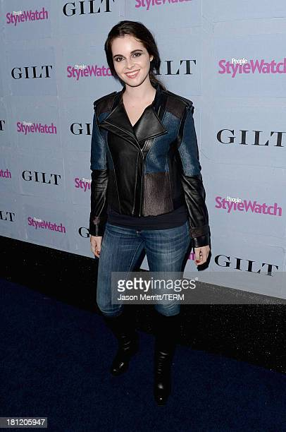 Actress Vanessa Marano attends People StyleWatch Denim Awards presented by GILT at Palihouse on September 19 2013 in West Hollywood California