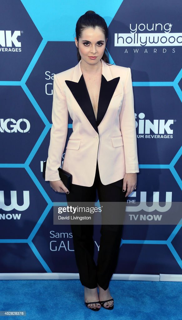 Actress <a gi-track='captionPersonalityLinkClicked' href=/galleries/search?phrase=Vanessa+Marano&family=editorial&specificpeople=851394 ng-click='$event.stopPropagation()'>Vanessa Marano</a> attends the 16th Annual Young Hollywood Awards at The Wiltern on July 27, 2014 in Los Angeles, California.