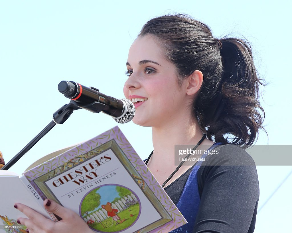 Actress <a gi-track='captionPersonalityLinkClicked' href=/galleries/search?phrase=Vanessa+Marano&family=editorial&specificpeople=851394 ng-click='$event.stopPropagation()'>Vanessa Marano</a> attends the 18th annual Los Angeles Times Festival Of Books - Day 1 at USC on April 20, 2013 in Los Angeles, California.