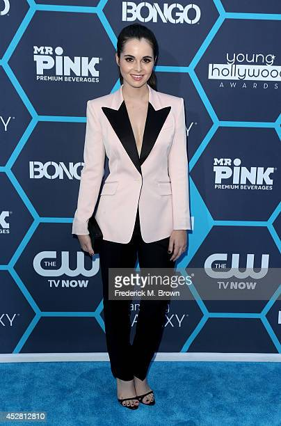 Actress Vanessa Marano attends the 2014 Young Hollywood Awards brought to you by Samsung Galaxy at The Wiltern on July 27 2014 in Los Angeles...