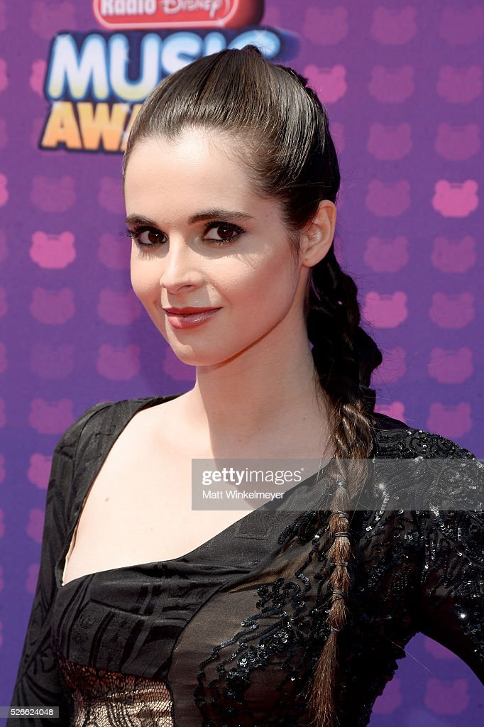 Actress <a gi-track='captionPersonalityLinkClicked' href=/galleries/search?phrase=Vanessa+Marano&family=editorial&specificpeople=851394 ng-click='$event.stopPropagation()'>Vanessa Marano</a> attends the 2016 Radio Disney Music Awards at Microsoft Theater on April 30, 2016 in Los Angeles, California.