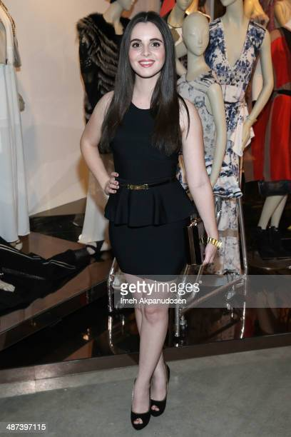 Actress Vanessa Marano attends the BCBGMAXAZRIA 'Living the Bon Chic Life' 25th Anniversary Retrospective Celebration at BCBG Max Azria Group LLC...