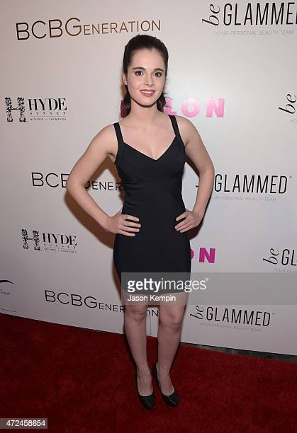 Actress Vanessa Marano attends the NYLON Young Hollywood Party presented by BCBGeneration at HYDE Sunset Kitchen Cocktails on May 7 2015 in West...