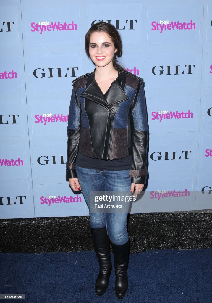 Actress Vanessa Marano attends the People StyleWatch 3rd annual Denim Issue party at Palihouse on September 19, 2013 in West Hollywood, California.