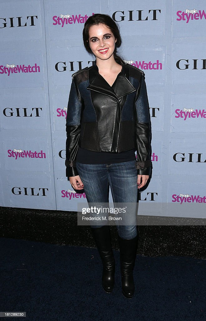 Actress <a gi-track='captionPersonalityLinkClicked' href=/galleries/search?phrase=Vanessa+Marano&family=editorial&specificpeople=851394 ng-click='$event.stopPropagation()'>Vanessa Marano</a> attends the People StyleWatch Denim Awards by GILT at the Palihouse on September 19, 2013 in West Hollywood, California.