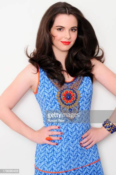 Actress Vanessa Marano is photographed for Be magazine on May 25 2013 in Los Angeles California
