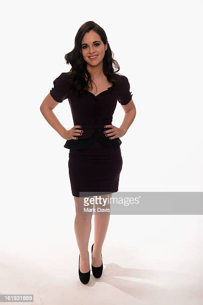 Actress Vanessa Marano poses for a portrait in the TV Guide Portrait Studio at the 3rd Annual Streamy Awards at Hollywood Palladium on February 17...