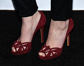 Actress Vanessa Marano shoe detail arrives at Teen Vogue's 13th Annual Young Hollywood Issue Launch Party on October 2 2015 in Los Angeles California