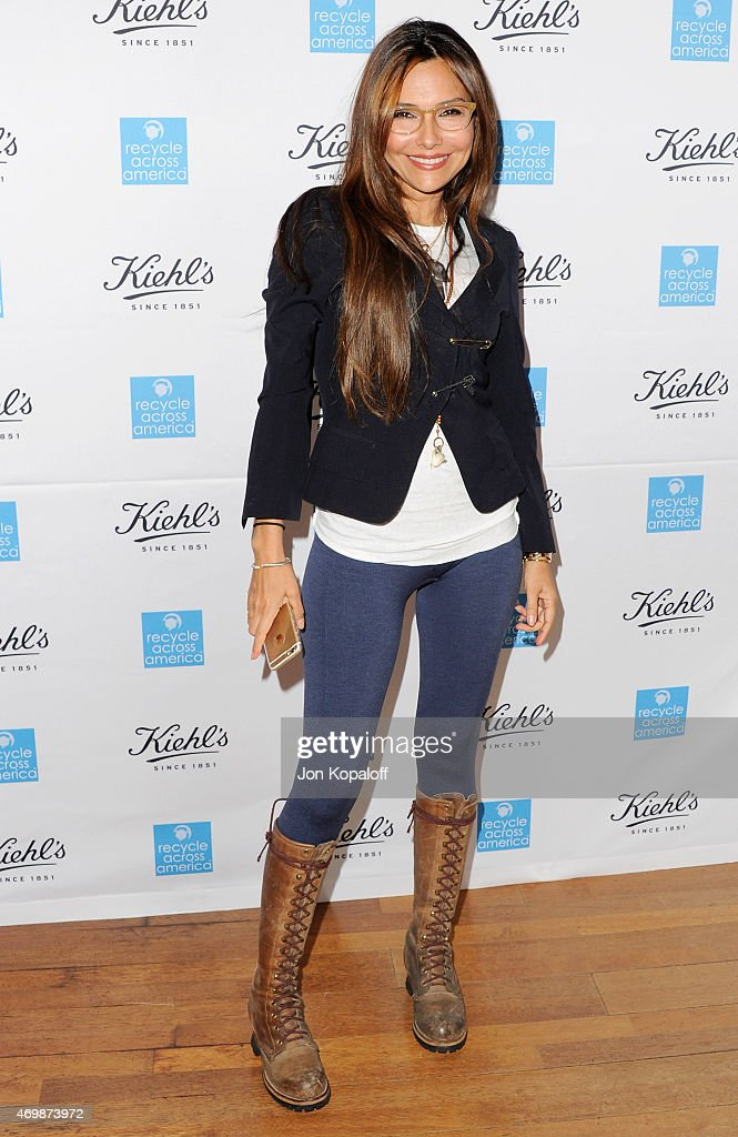 Actress Vanessa Marcil arrives at Kiehl's 2015 Earth Day Project With Elizabeth Olsen And Maggie Q at Kiehls Since 1851 Santa Monica Store on April 15, 2015 in Santa Monica, California.