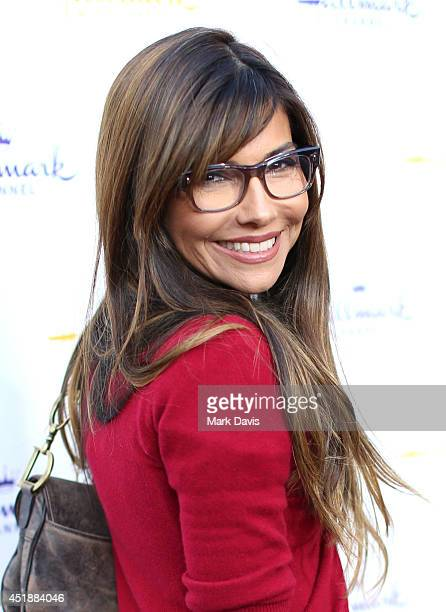 Actress Vanessa Marcil attends the Hallmark Channel Hallmark Movie Channel's 2014 Summer TCA Party on July 8 2014 in Beverly Hills California