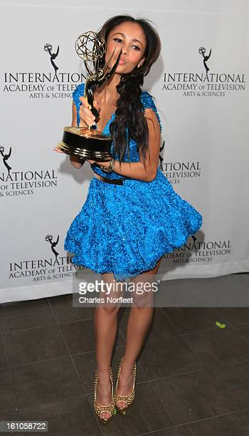 Actress Vanessa Morgan attends The Inaugural International Emmy Kids Awards at The Lighthouse at Chelsea Piers on February 8 2013 in New York City