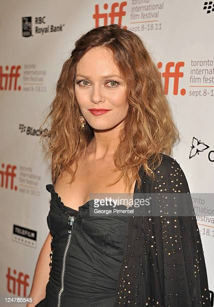 Actress Vanessa Paradis attends the 'Cafe De Flore' Premiere during the 2011 Toronto International Film Festival held at Princess of Wales theatre on...