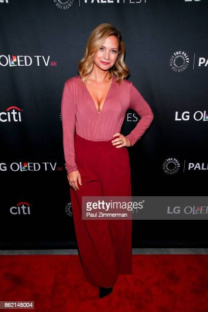 Actress Vanessa Ray attends PaleyFest NY 2017 'Blue Bloods' at The Paley Center for Media on October 16 2017 in New York City