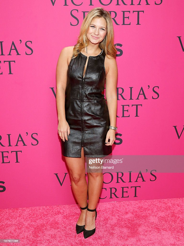 Actress Vanessa Ray attends the 2013 Victoria's Secret Fashion Show at Lexington Avenue Armory on November 13, 2013 in New York City.