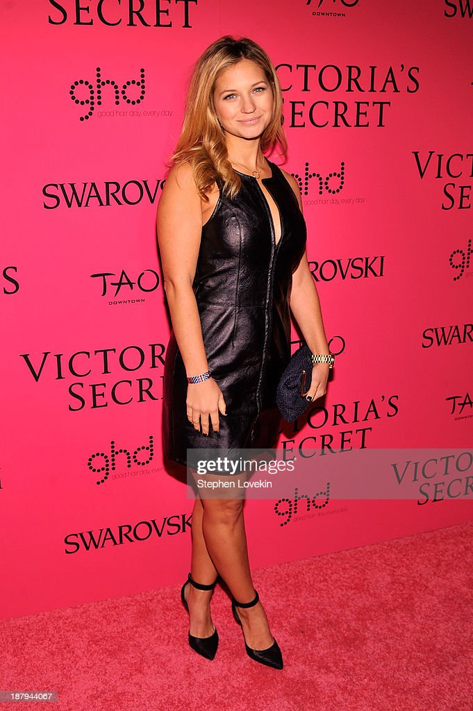 Actress Vanessa Ray attends the 2013 Victoria's Secret Fashion Show at TAO Downtown on November 13, 2013 in New York City.