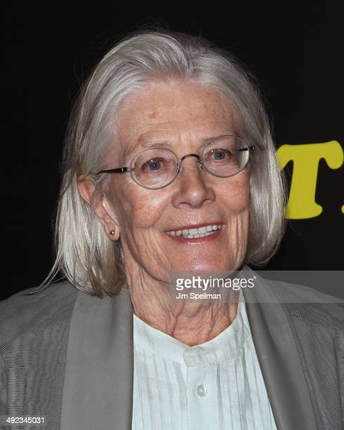 Actress Vanessa Redgrave attends Magnolia Pictures with The Cinema Society screening of 'Filth'at Landmark's Sunshine Cinema on May 19 2014 in New...