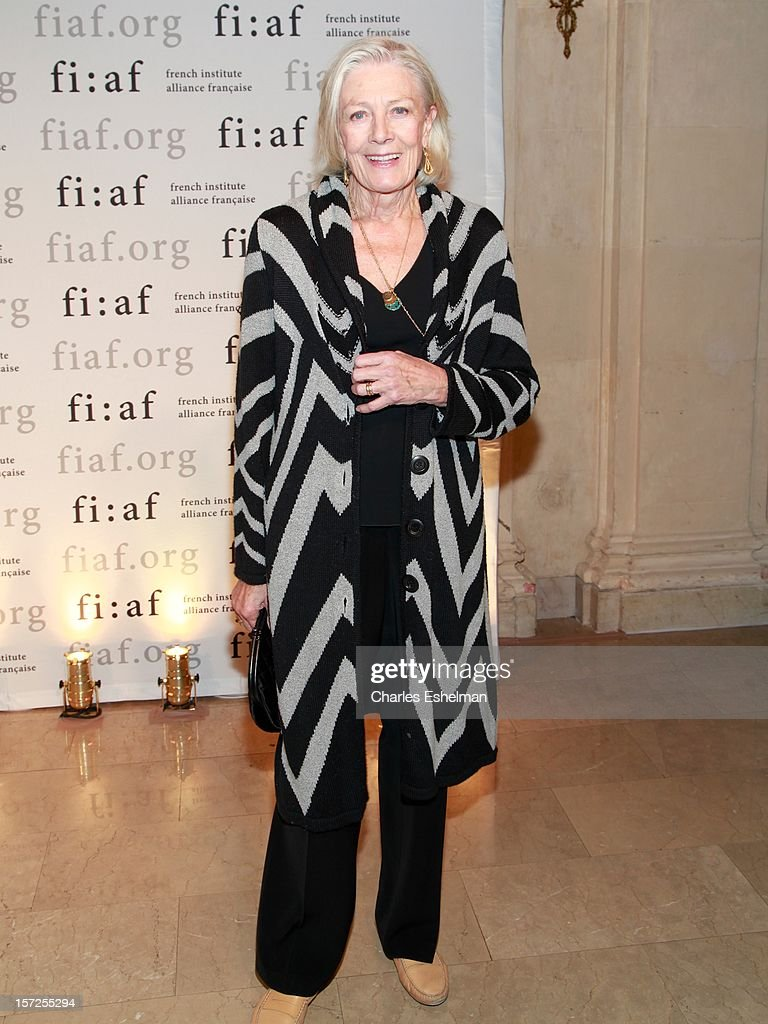 Actress Vanessa Redgrave attends the 2012 Trophee Des Arts gala at The Plaza Hotel on November 30, 2012 in New York City.