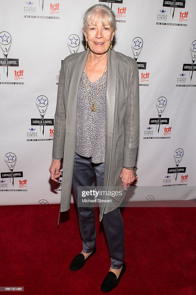 Actress Vanessa Redgrave attends the 2013 Lucille Lortel Awards at Jack H. Skirball Center for the Performing Arts on May 5, 2013 in New York City.