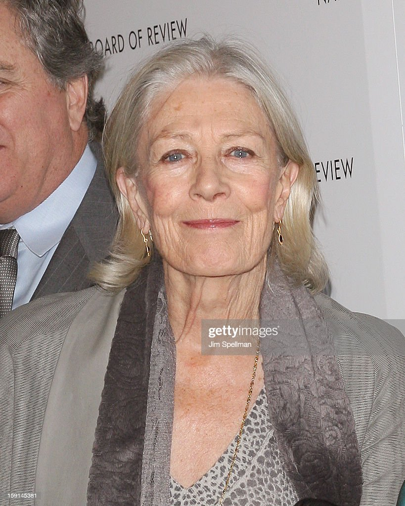 Actress Vanessa Redgrave attends the 2013 National Board Of Review Awards Gala at Cipriani Wall Street on January 8, 2013 in New York City.
