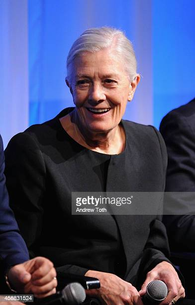 Actress Vanessa Redgrave attends The Academy of Motion Picture Arts and Sciences hosts an official academy members screening of 'Foxcatcher' at The...