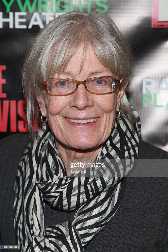 Actress Vanessa Redgrave attends 'The Revisionist' Opening Night at Cherry Lane Theatre on February 28, 2013 in New York City.
