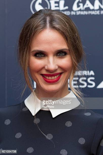 Actress Vanessa Romero attends a promotional event in Madrid IBERIA EXPRESS November 3 2016 in Madrid Spain