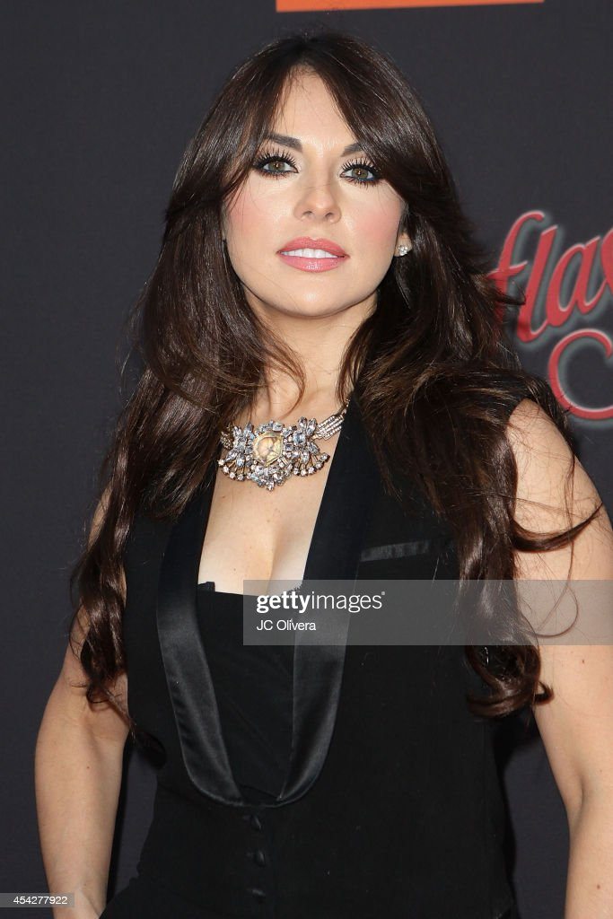 Actress Vanessa Villela attends 'Cantinflas' Los Angeles Premiere at TCL Chinese Theatre on August 27 2014 in Hollywood California