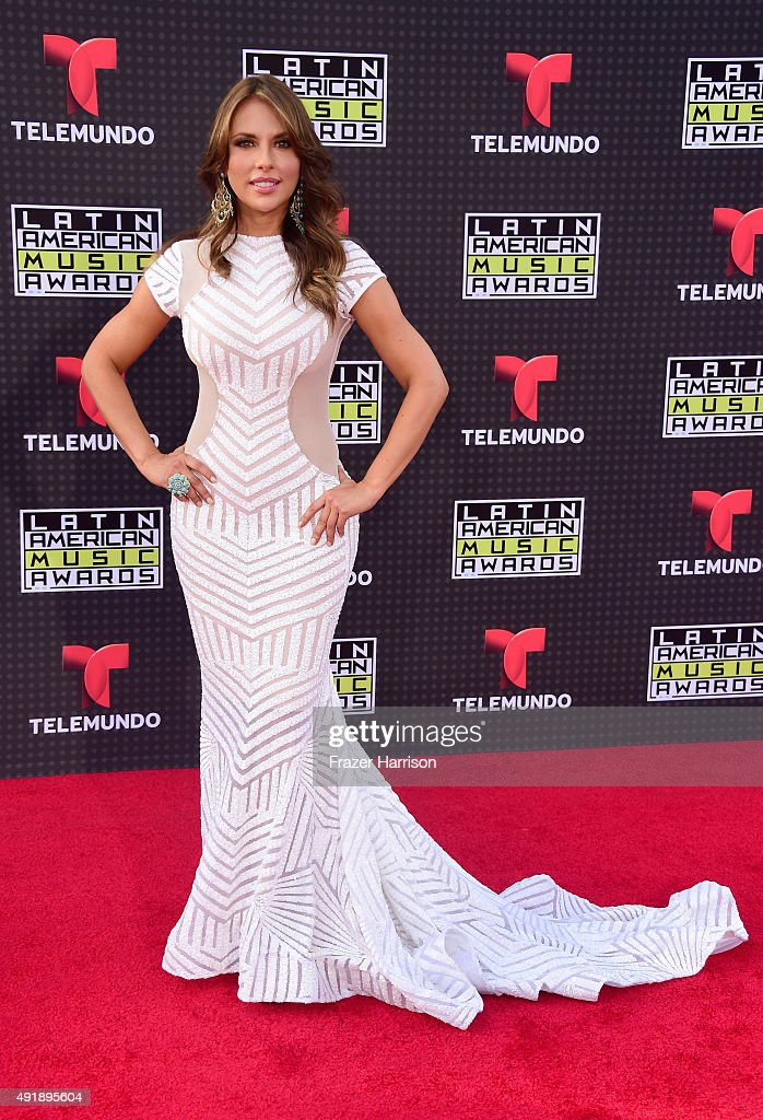Actress Vanessa Villela attends Telemundo's Latin American Music Awards at the Dolby Theatre on October 8, 2015 in Hollywood, California.