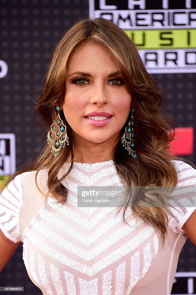Actress Vanessa Villela attends Telemundo's Latin American Music Awards at the Dolby Theatre on October 8 2015 in Hollywood California