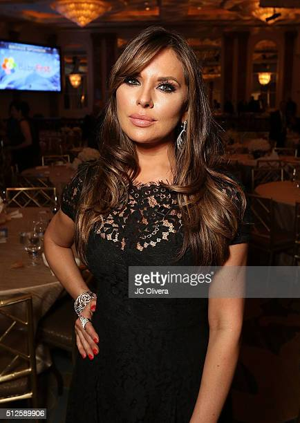 Actress Vanessa Villela attends the 19th Annual National Hispanic Media Coalition Impact Awards Gala at Regent Beverly Wilshire Hotel on February 26...