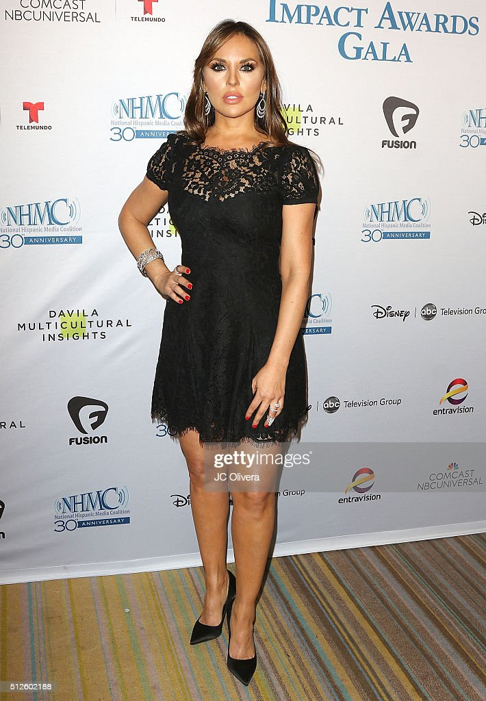 Actress Vanessa Villela attends the 19th Annual National Hispanic Media Coalition Impact Awards Gala at Regent Beverly Wilshire Hotel on February 26, 2016 in Beverly Hills, California.