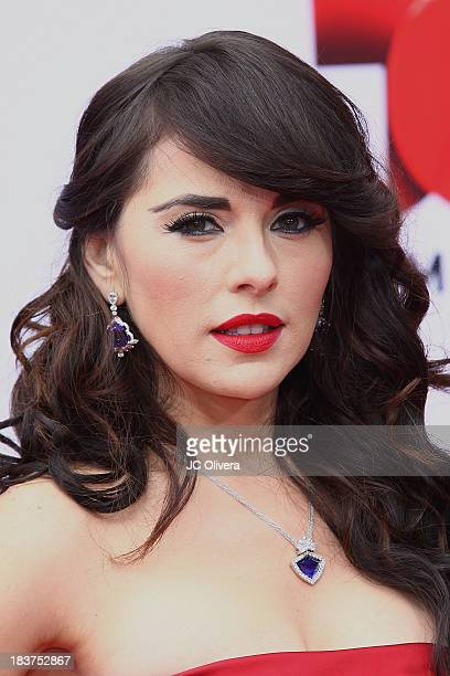Actress Vanessa Villela attends The 2013 Billboard Mexican Music Awards at Dolby Theatre on October 9 2013 in Hollywood California