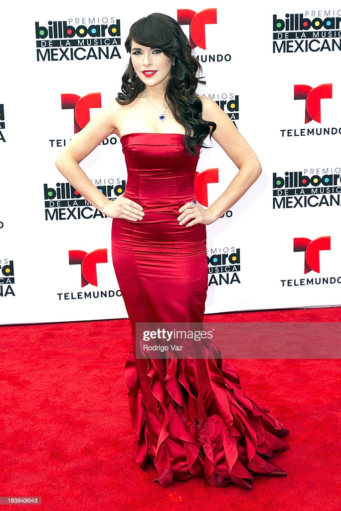 Actress Vanessa Villela attends the 2013 Billboard Mexican Music Awards arrivals at Dolby Theatre on October 9 2013 in Hollywood California