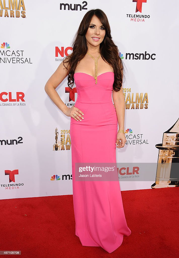 Actress Vanessa Villela attends the 2014 NCLR ALMA Awards at Pasadena Civic Auditorium on October 10 2014 in Pasadena California