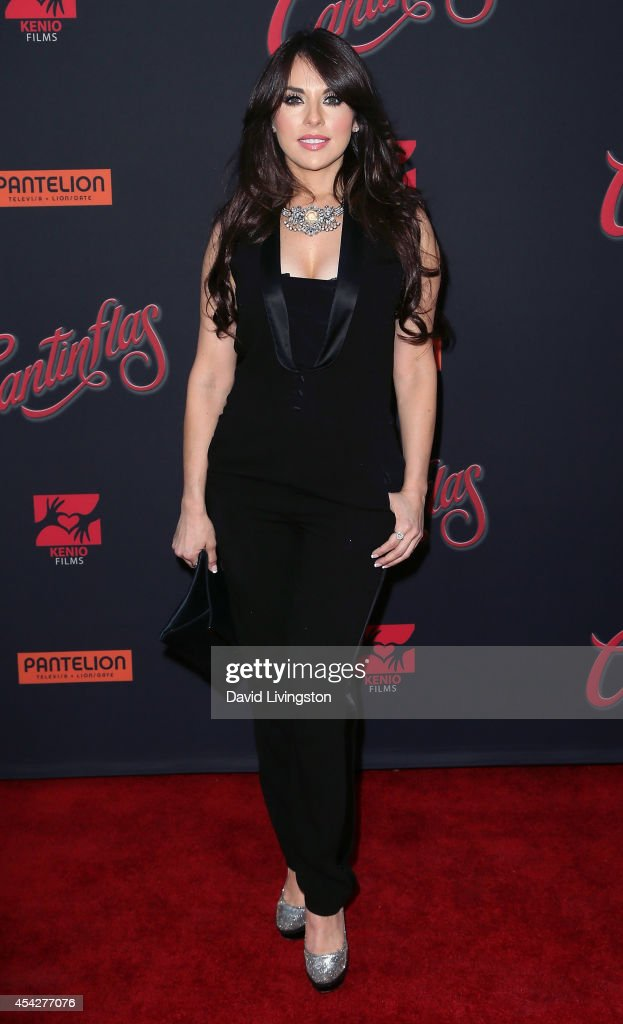 Actress Vanessa Villela attends the premiere of Pantelion Films' 'Cantinflas' at the TCL Chinese Theatre on August 27 2014 in Hollywood California