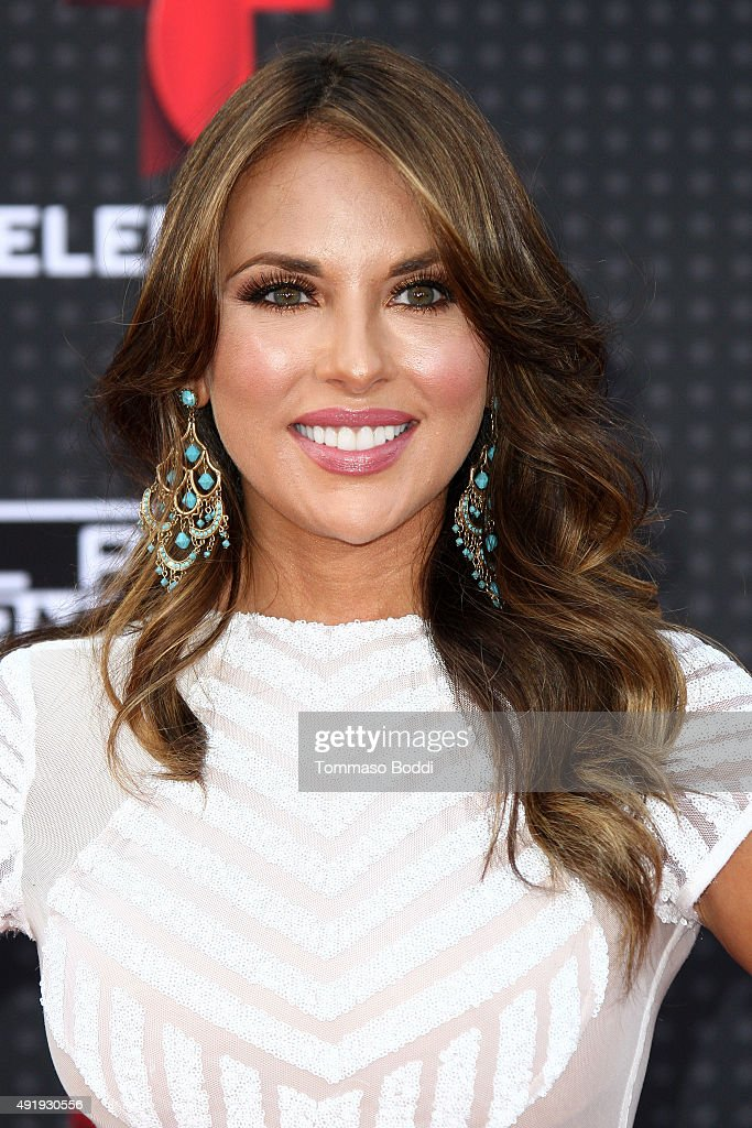 Actress Vanessa Villela attends the Telemundo's Latin American Music Awards 2015 held at Dolby Theatre on October 8 2015 in Hollywood California