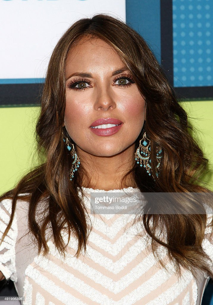 Actress Vanessa Villela poses in the press room during the Telemundo's Latin American Music Awards 2015 held at Dolby Theatre on October 8, 2015 in Hollywood, California.