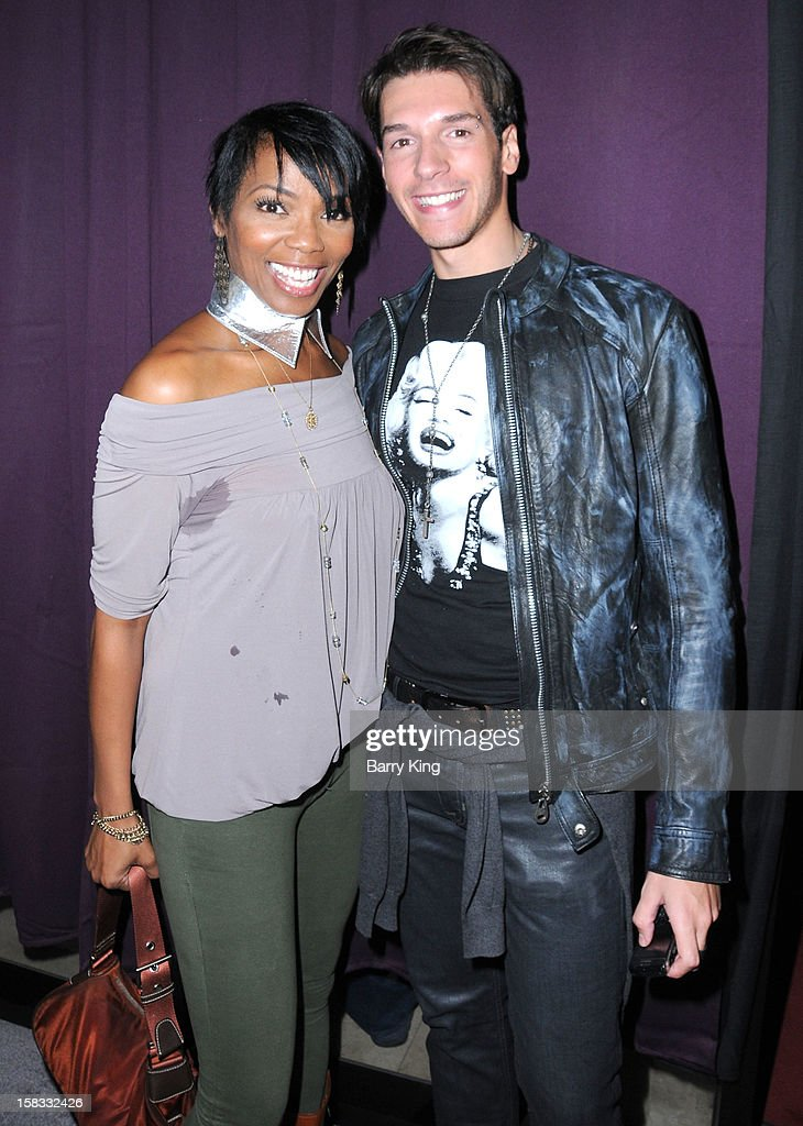 Actress Vanessa Williams and actor Raul Ramos attend the WHO CED In-Store Holiday Launch Party at Brigade LA on December 12, 2012 in Los Angeles, California.