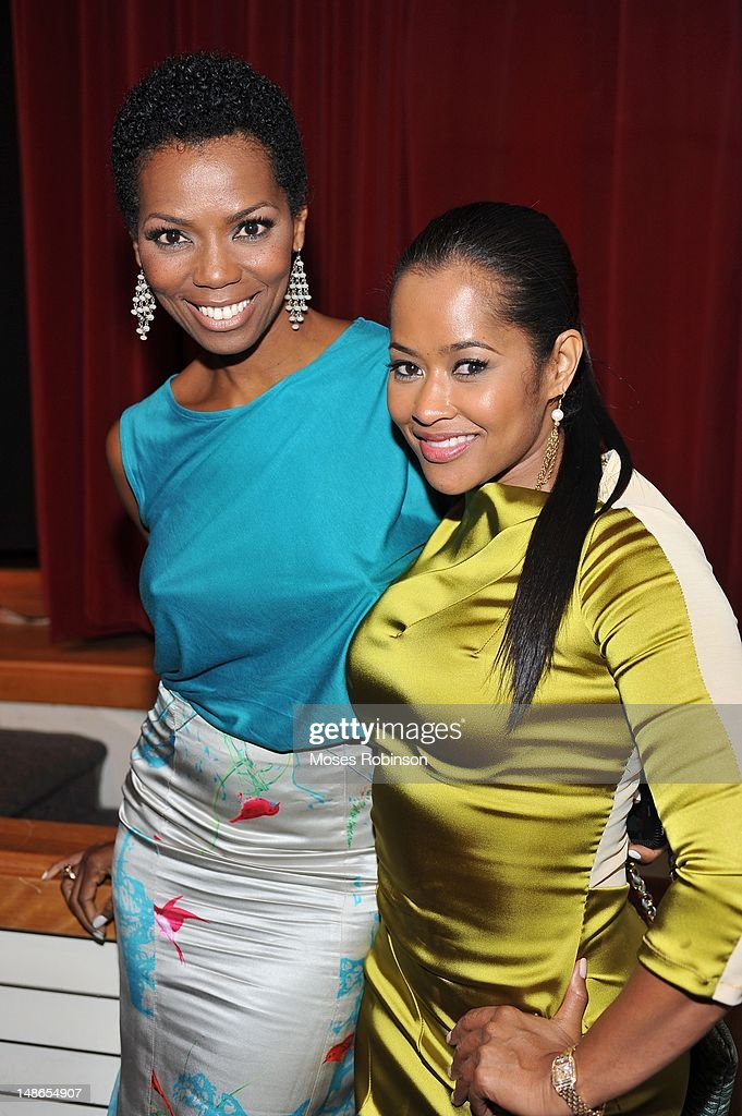 Actress Vanessa Williams and actress Lisa Wu Hartwell Attend Bobbcat Films presents Atlanta screening of 'Raising Izzie' at Woodruff Arts Center on...