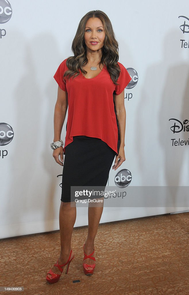 Actress Vanessa Williams arrives at the 2012 Disney ABC Television TCA summer press tour party at The Beverly Hilton Hotel on July 27, 2012 in Beverly Hills, California.