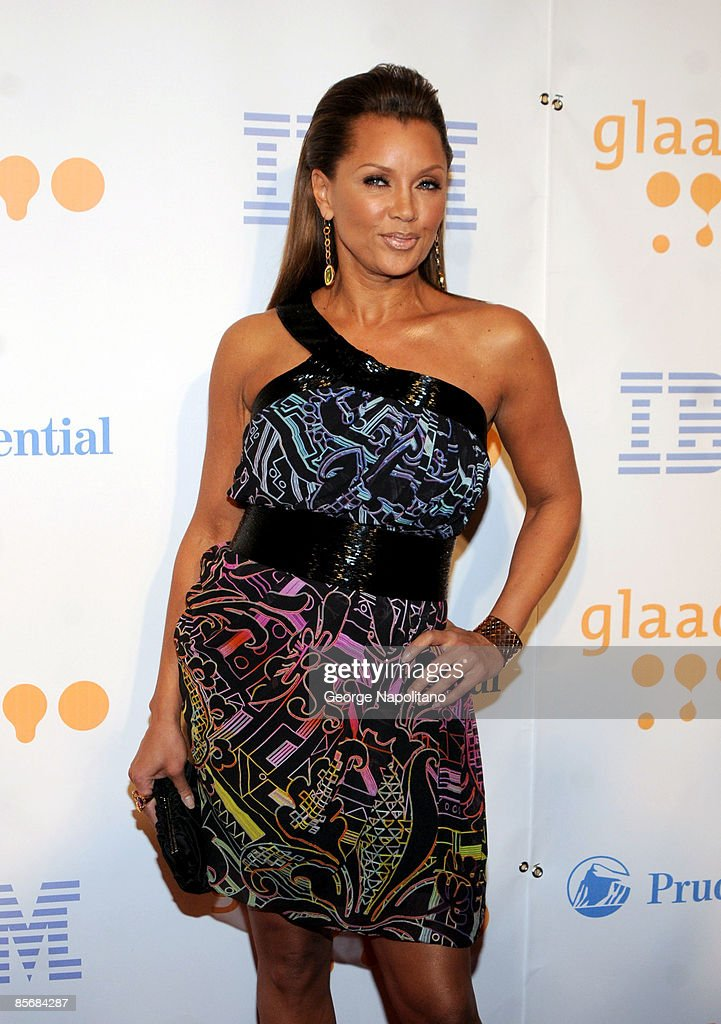 Actress Vanessa Williams arrives at the 20th Annual GLAAD Media Awards at the Marriott Marquis on March 28, 2009 in New York City.