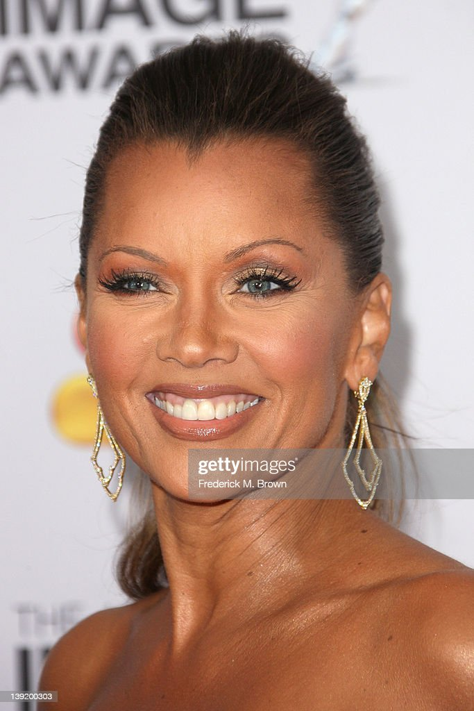 Actress Vanessa Williams arrives at the 43rd NAACP Image Awards held at The Shrine Auditorium on February 17, 2012 in Los Angeles, California.