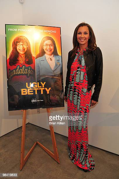 Actress Vanessa Williams attends an 'Ugly Betty' charity auction at Axelle Fine Arts Gallery Ltd on April 12 2010 in New York City