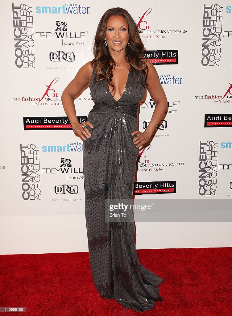Actress Vanessa Williams attends Fashion Group International's Meet the Designer & the Muse at Ace Gallery on March 8, 2012 in Los Angeles, California.