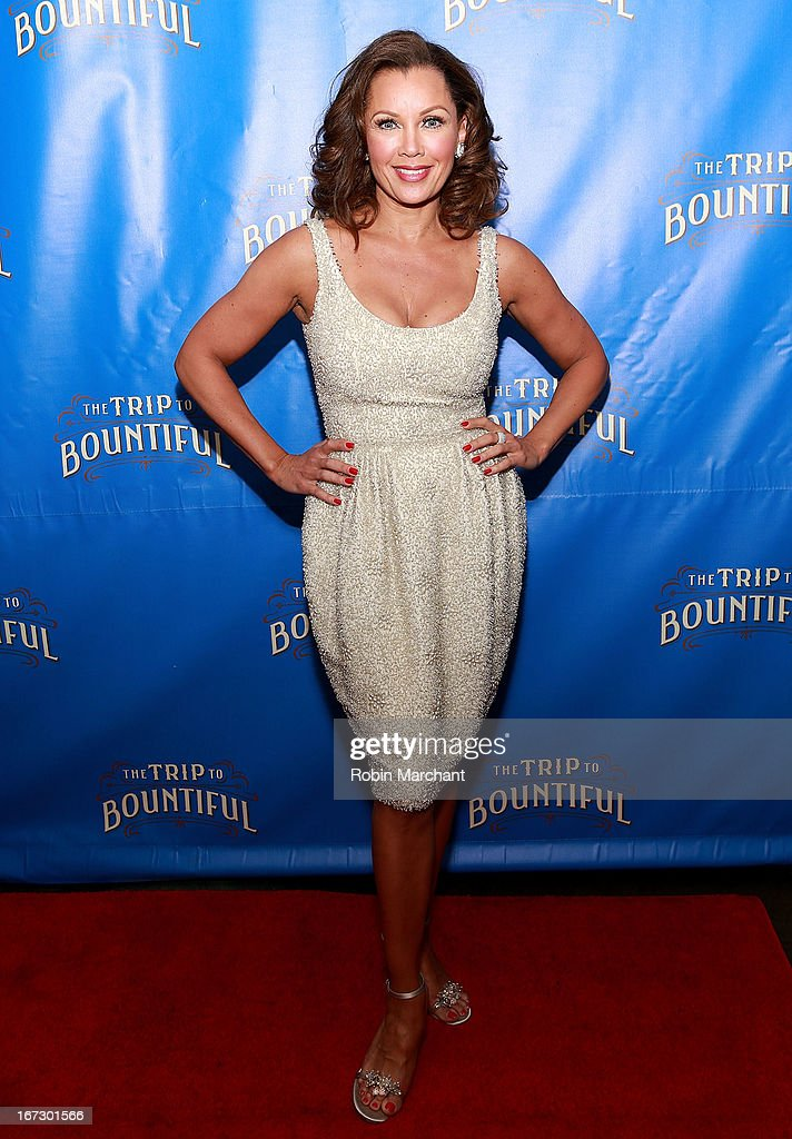 Actress Vanessa Williams attends the after party for the Broadway opening night of 'The Trip To Bountiful' at Copacabana on April 23, 2013 in New York City.