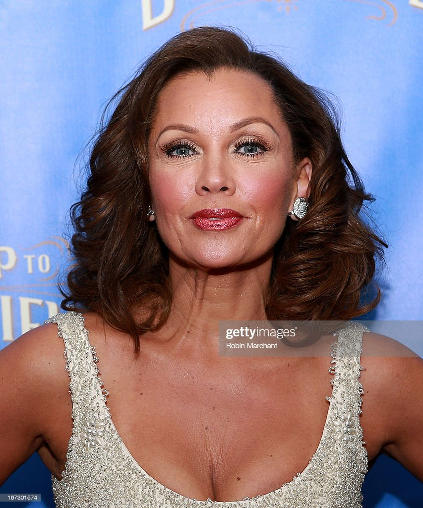 Actress <a gi-track='captionPersonalityLinkClicked' href=/galleries/search?phrase=Vanessa+Williams&family=editorial&specificpeople=201691 ng-click='$event.stopPropagation()'>Vanessa Williams</a> attends the after party for the Broadway opening night of 'The Trip To Bountiful' at Copacabana on April 23, 2013 in New York City.