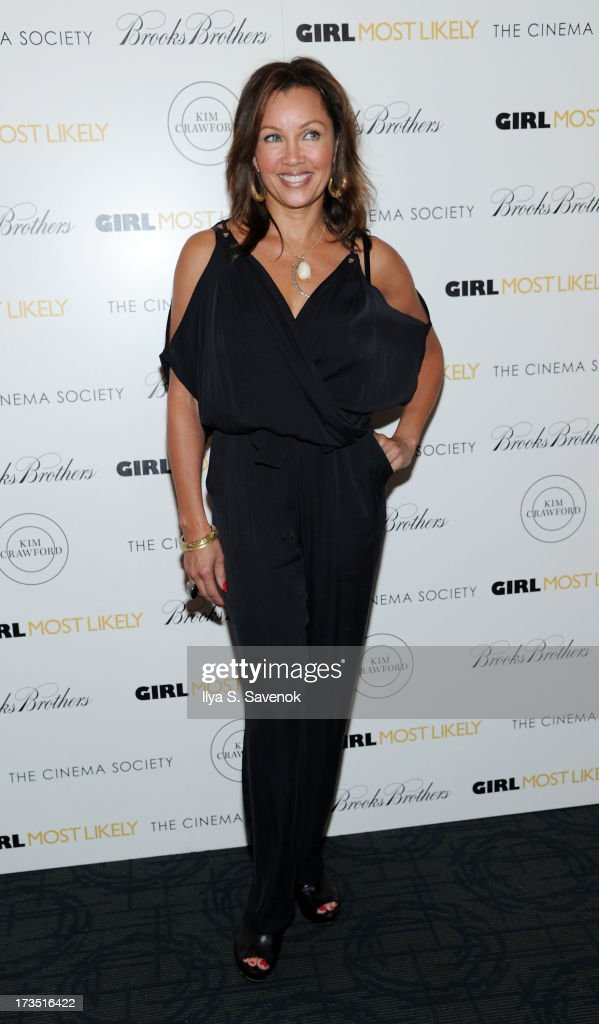 Actress Vanessa Williams attends The Cinema Society & Brooks Brothers Host A Screening Of Lionsgate And Roadside Attractions' 'Girl Most Likely's at Landmark Sunshine Cinema on July 15, 2013 in New York City.