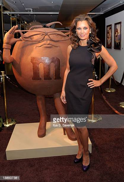 Actress Vanessa Williams attends the grand opening of the MM's Museum of Chocolate Art on February 7 2012 in New York City