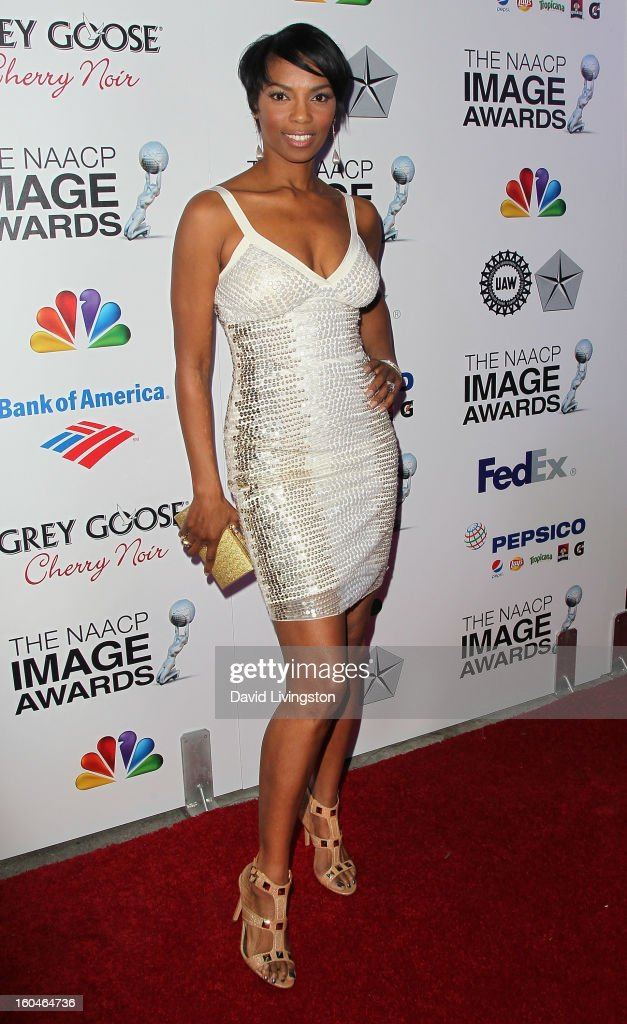 Actress Vanessa Williams attends the NAACP Image Awards Pre-Gala at Vibiana on January 31, 2013 in Los Angeles, California.